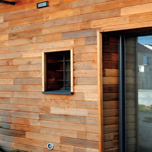 Bardage bois Red Cedar Silverwood Toulouse 31 et Midi Pyrénées Ets Daussion # Angle Bardage Bois