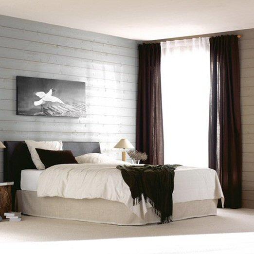 Emejing Chambre Lambris Gris Gallery - House Design - marcomilone.com