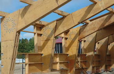 construction bois ou acier