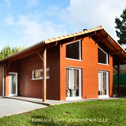 silverwood natur rouille maison individuelle