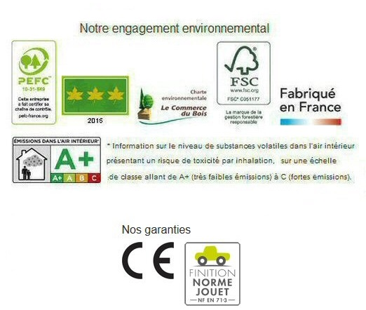 certifications et garanties du lambris Silverwood