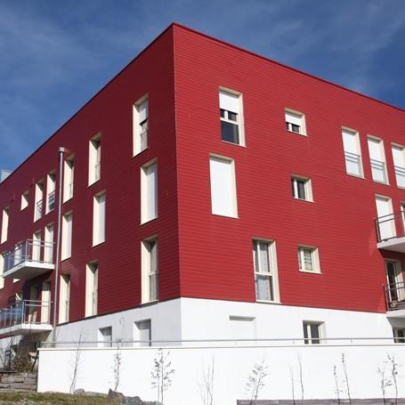 immeuble-bardage-extra-rouge