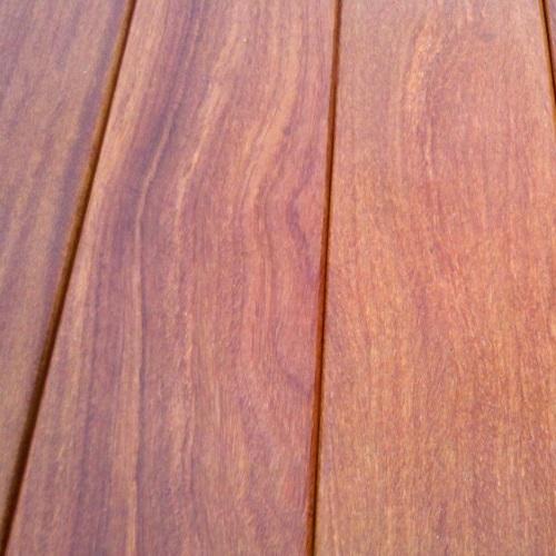 Lames de terrasse bois exotique Cumaru